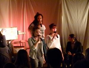 Paula, Melissa & Yoko